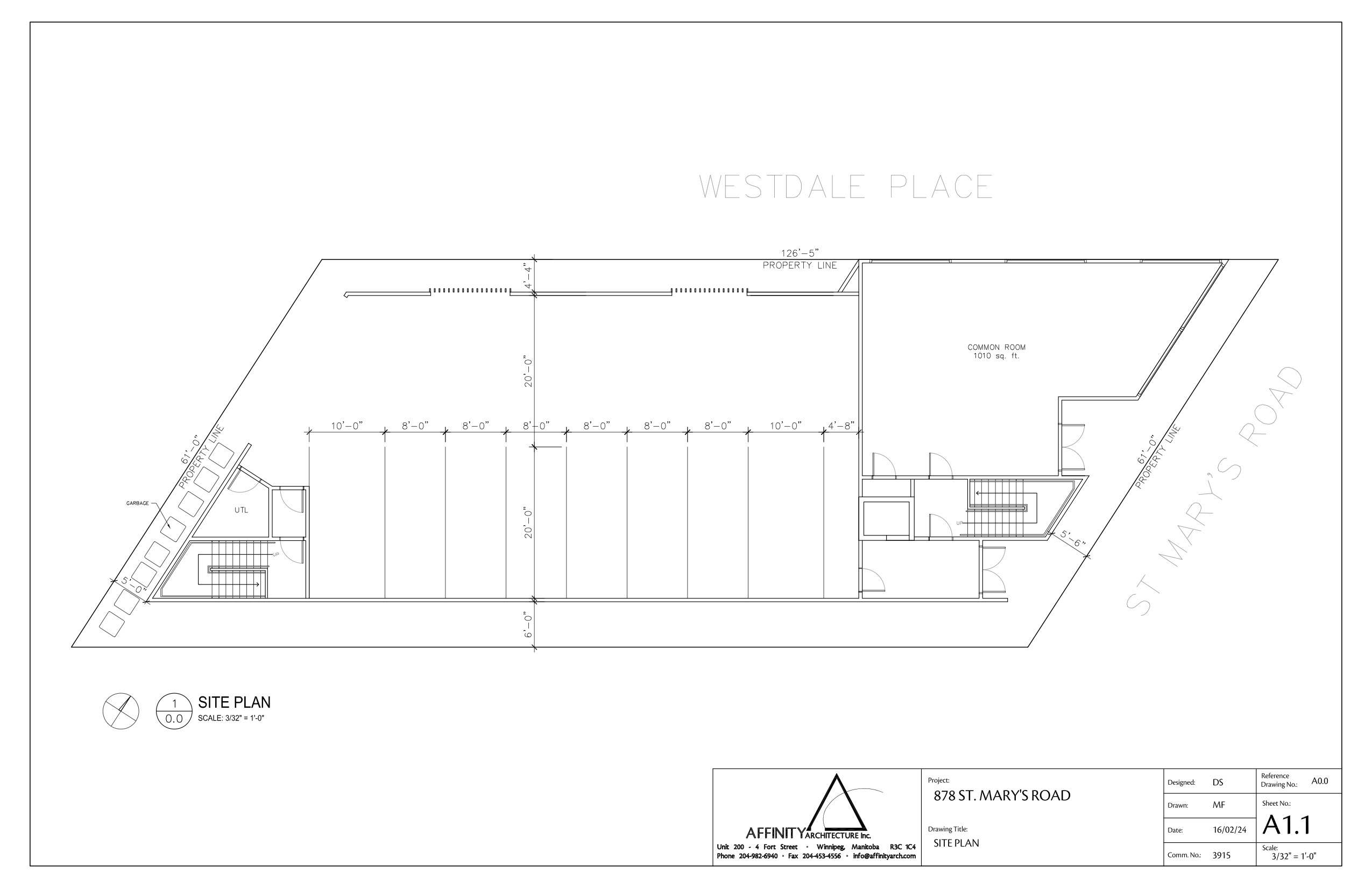16 02 24 – 878 st. mary's site plan